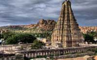 Virupaksha Temple Hampi Temples,Tourist Spots In South India